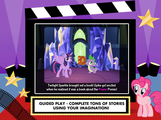 My Little Pony: Lights, Camera, Ponies! Image