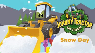 Johnny Tractor Snow Day