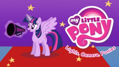 My Little Pony Lights Cameras Ponies