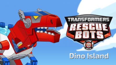 Transformers Rescue Bots: Dino Island Banner