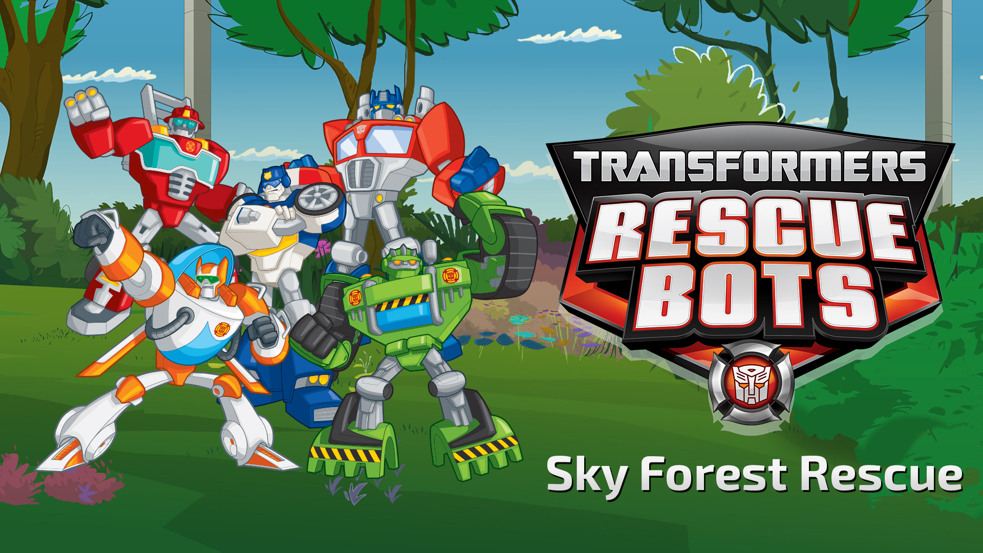 Transformers Rescue Bots Sky Forest Graphite Lab