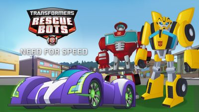 Rescue Bots Website Banner