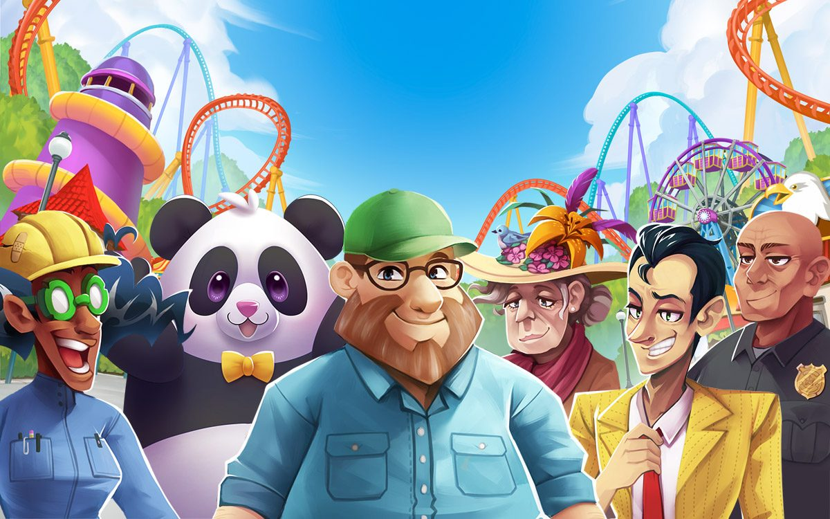 RollerCoaster Tycoon Story Characters